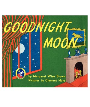 Goodnight Moon, illustrated by Clement Hurd, written by Margaret Wise Brown