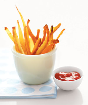 Root Vegetables Fries