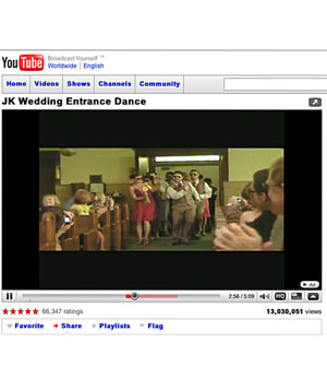Jill and Kevin Kheinz Wedding on YouTube