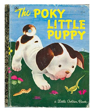 The Poky Little Puppy, by Janette Sebring Lowrey