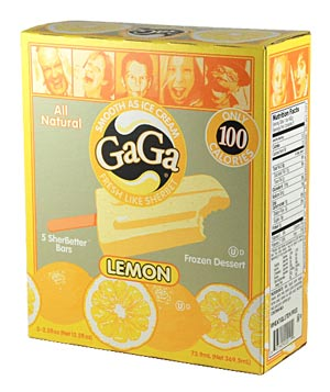 Gaga Lemon Ice Cream