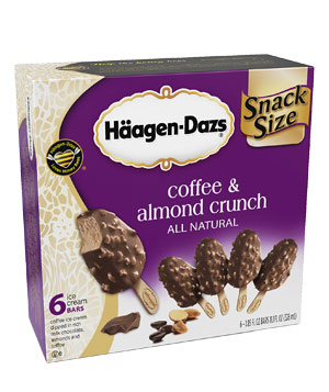 Haagen-Daz Coffee & Almond Crunch Ice Cream