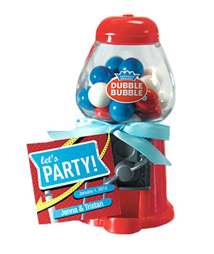 Mini classic gum-ball machine