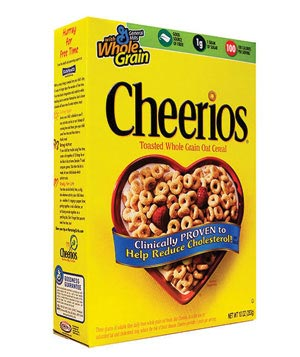 Cheerios cereal