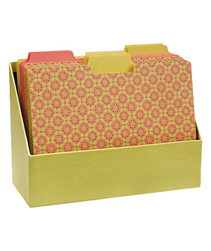 Paper Source File Folder Set