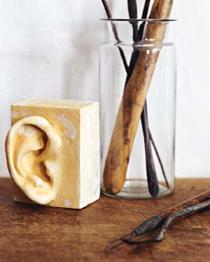 Sculpture of an ear