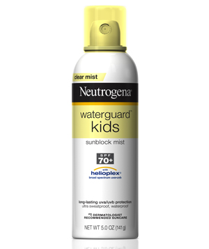 Neutrogena Waterguard Kids Sunblock Mist Spray SPF 70+