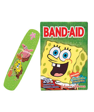 Band-Aid Decorated Adhesive bandages