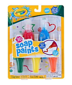 Crayola 3D Soap Paints