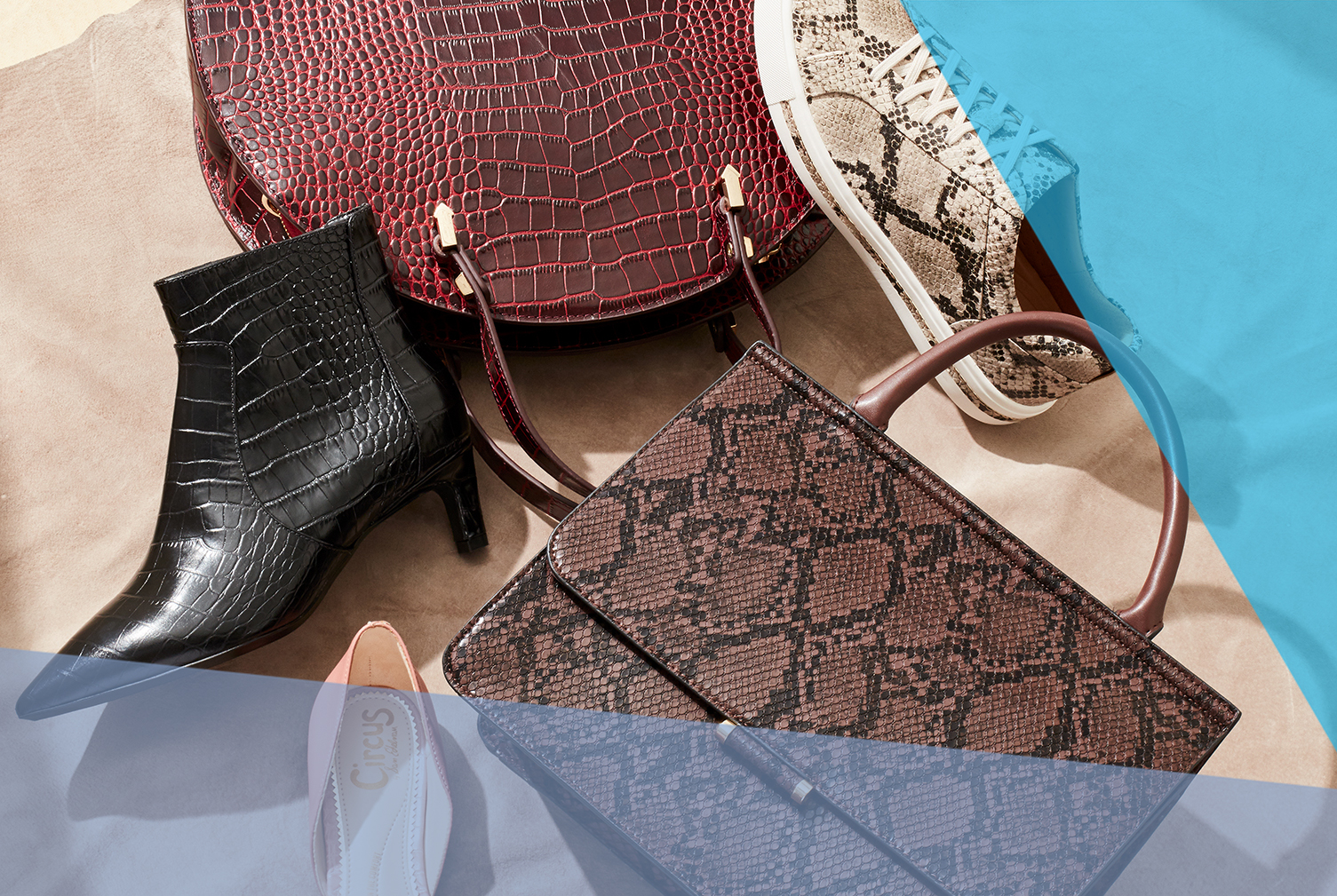 flatlay of leatheReal Simple Fall Fashion Accessories Trends