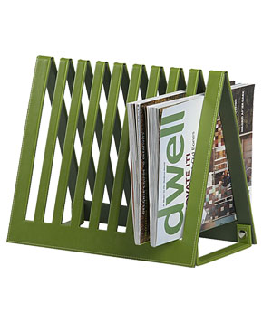 Crate & Barrel Magazine Rack