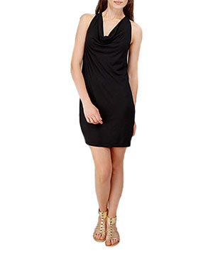 7 for All Mankind Heavy Jersey Racerback Dress