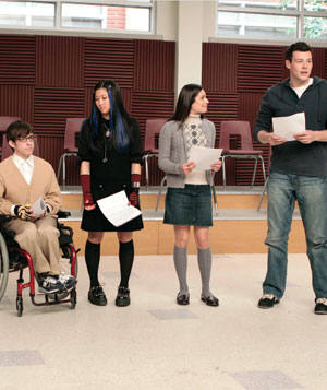 """Glee"" film still"