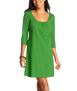 Old Navy Pleated Jersey Dress