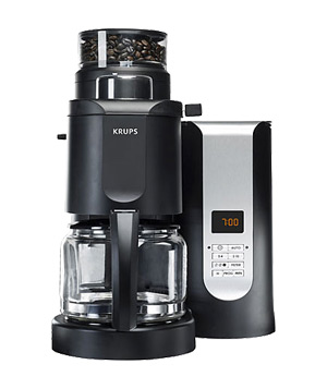 Krups KM7000 grind and brew coffeemaker