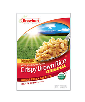 Erewhon Organic Original Crispy Brown Rice cereal