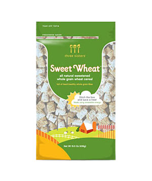 Three Sisters Sweet Wheat cereal