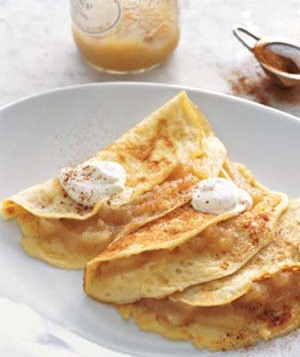 Apple Blintz Pancakes