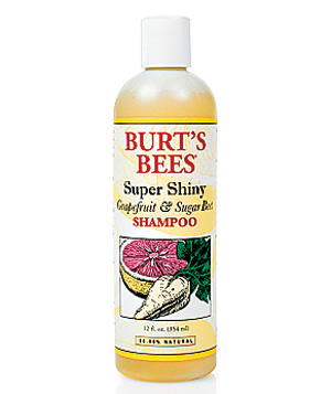 Burt's Bees Super Shiny Grapefruit & Sugar Beet Shampoo