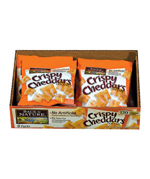 Back to Nature Crispy Cheddars