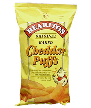 Bearitos Cheddar Puffs