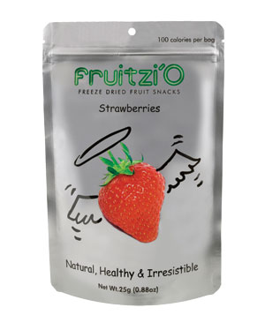 Fruitzi'O dried fruit snacks