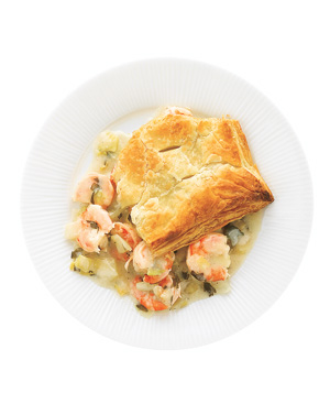 Shrimp Pot Pie With Fennel