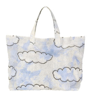 Stella McCartney Cloud-Print Shopper