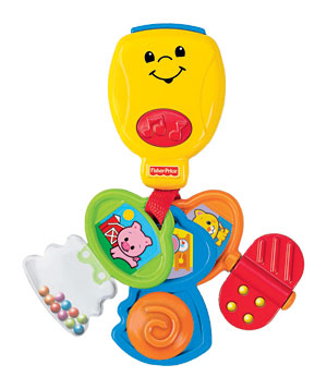 Fisher Price Brilliant Basics Nursery Rhyme Keys