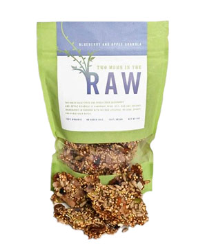 Two Moms in the Raw Blueberry and Apple Granola