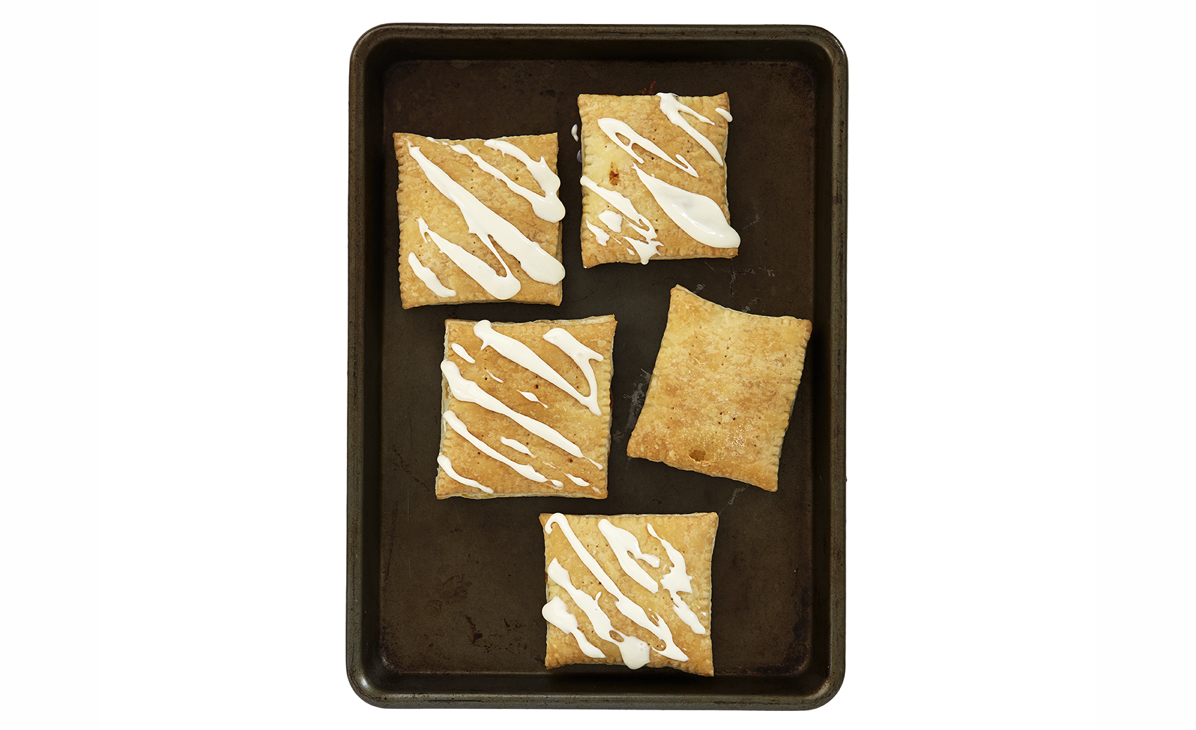 Easy Pumpkin Pie Pop Tart With Cream Cheese Glaze
