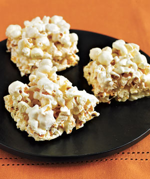Marshmallow Popcorn Bars