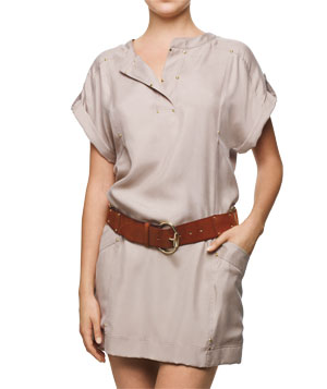 Kenneth Cole New York dress and Linea Pelle belt