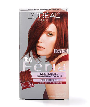 L'Oreal Paris Feria Multi-Faceted Shimmering Color for Reds