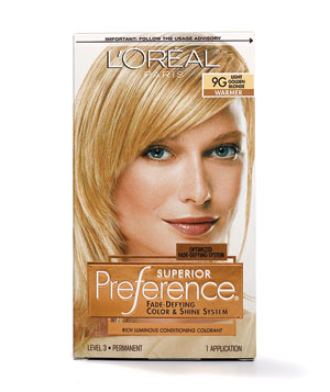 L'Oreal Paris Superior Preference for Blonds