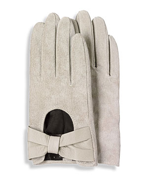 H&M suede gloves