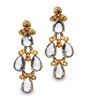J. Crew Thornbush earrings