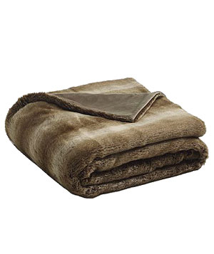 Faux Sable Throw by Williams-Sonoma Home