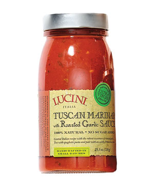 Lucini Tuscan Marinara Sauce With Roasted Garlic