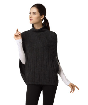 Vince Turtleneck Capelet