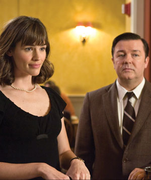 """The Invention of Lying"" with Jennifer Garner and Ricky Gervais"