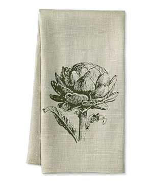 Williams-Sonoma Artichoke Towel