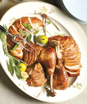 Orange-Rosemary Roasted Turkey