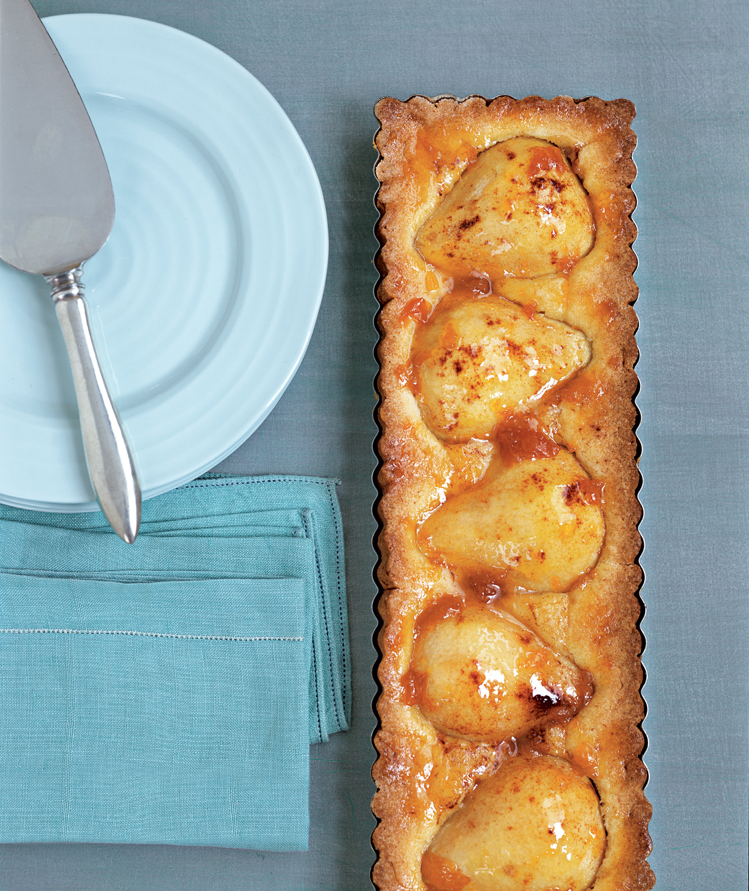 Pressed-Crust Pear Tart