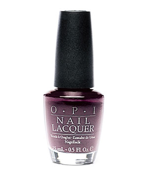Opi Matte Nail Lacquer in Lincoln Park After Dark