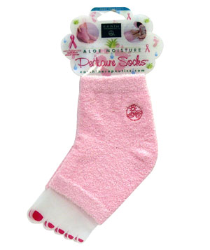Earth Therapeutics Aloe Pedicure Socks