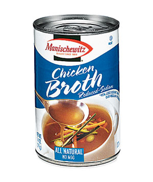 Manischewitz Low-Sodium Chicken Broth