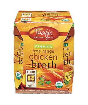 Pacific Natural Foods Organic Free Range Chicken Broth