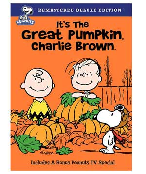 """It's the Great Pumpkin, Charlie Brown"" DVD"