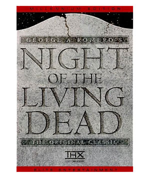 """Night of the Living Dead"" DVD"